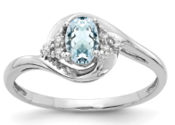 aquamarine march ring